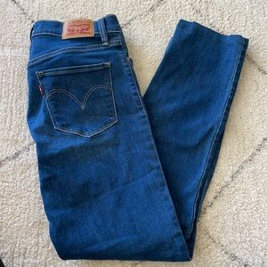 Levis shaping slim jeans 312
